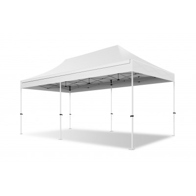 Stahl 30mm - 3x6 - Medium - Klappzelt, Faltpavillon