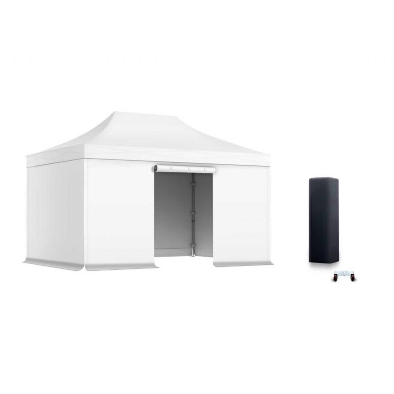 pack faltzelt medium stahl 30mm 3x4 5 bestes preis leistung. Black Bedroom Furniture Sets. Home Design Ideas
